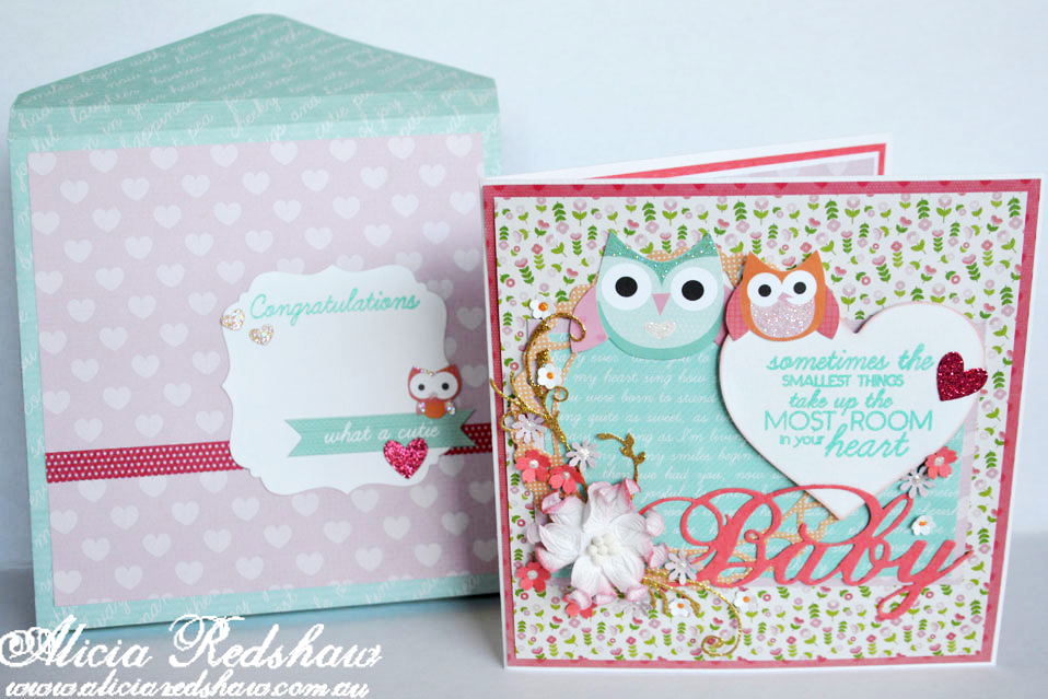 Daily Inspiration – Baby Card by Alicia Redshaw