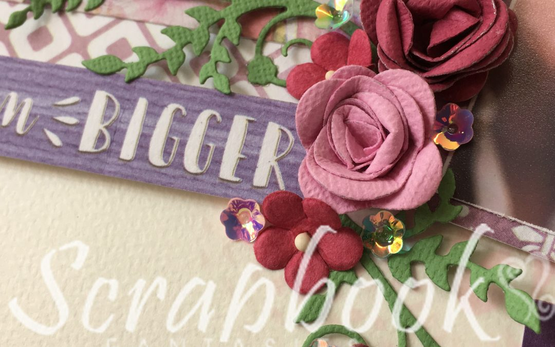 Celebr8 New Beginnings Scrapbooking Class with Joanna Ford