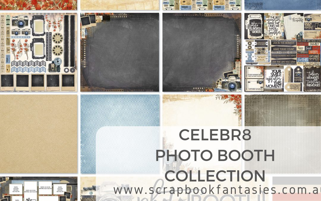NEW Celebr8 Photobooth Collection