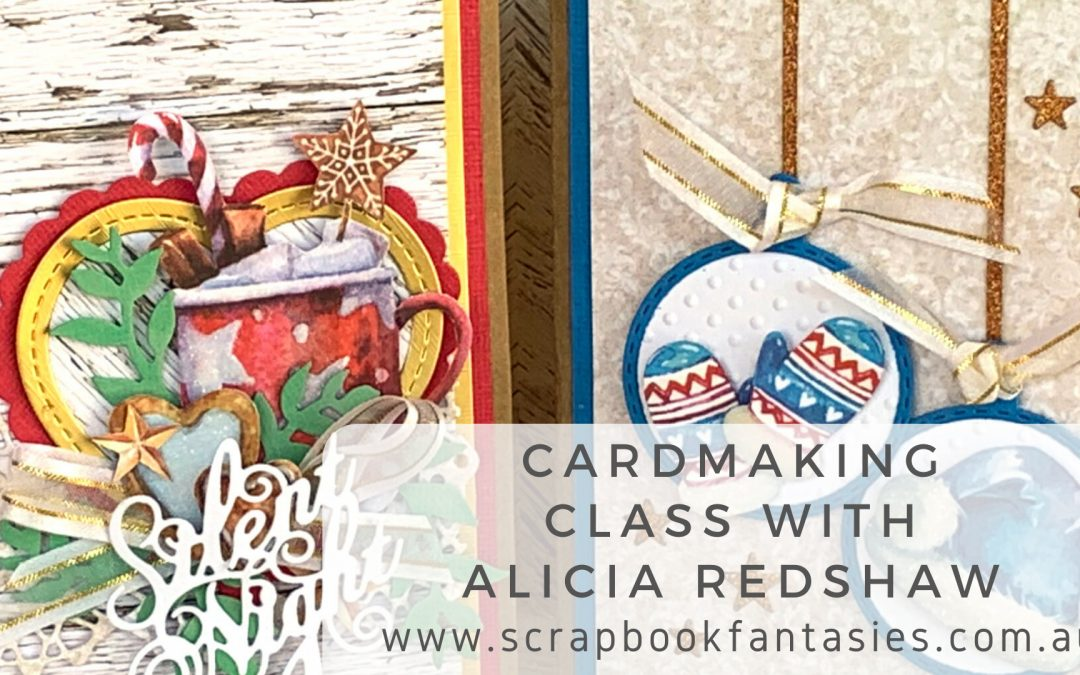 Lemoncraft Joy to the World Cardmaking Class with Alicia Redshaw