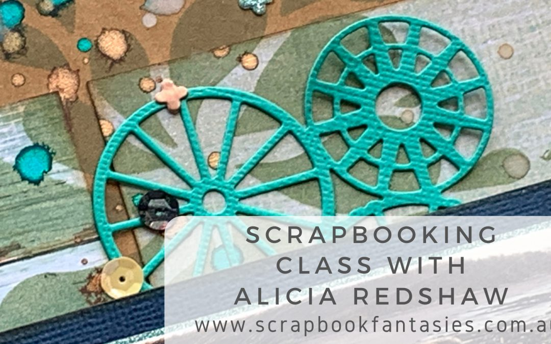 Colour Blast Life's A Beach Scrapbooking Class with Alicia Redshaw {REPEAT}