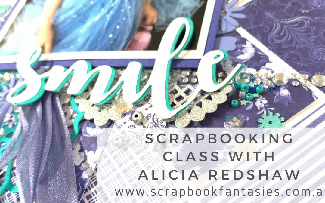 Craft Easy English Boutique Scrapbooking Class with Alicia Redshaw $17
