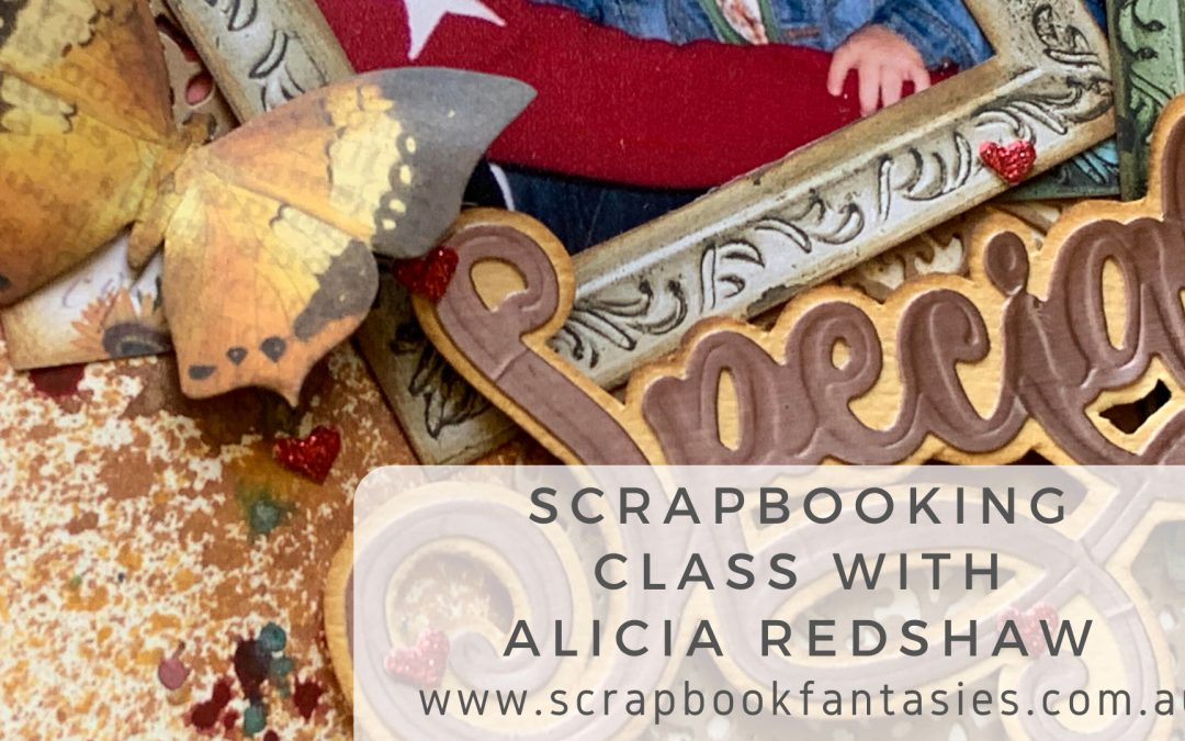 ScrapBoys Flower Story Scrapbooking Class with Alicia Redshaw $17 {REPEAT}