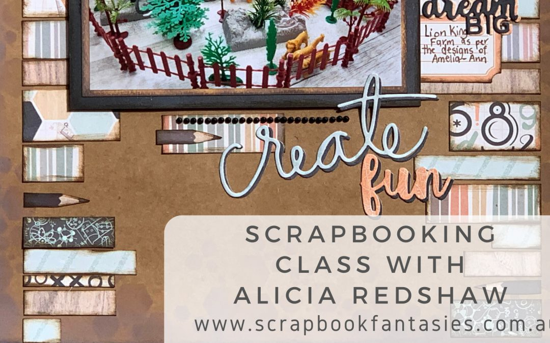 Celebr8 Take Note Scrapbooking Class with Alicia Redshaw $17 {REPEAT}
