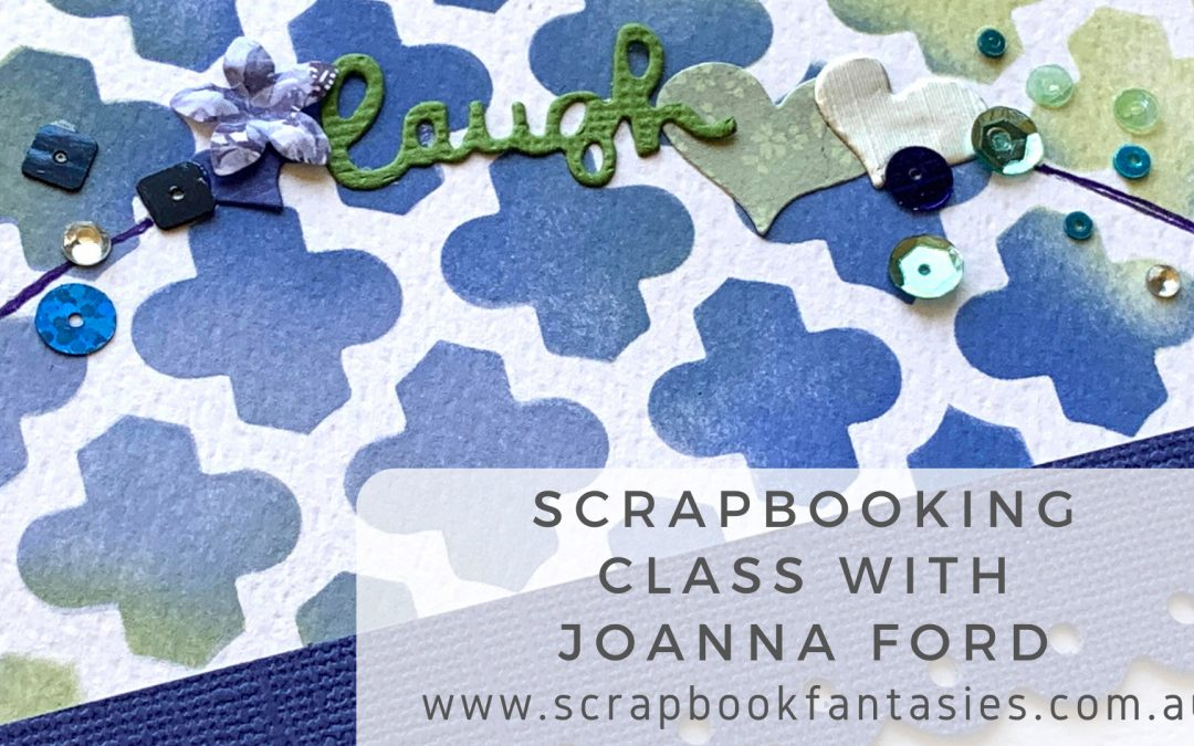 Craft Easy English Boutique Scrapbooking Class with Joanna Ford $17 {REPEAT}