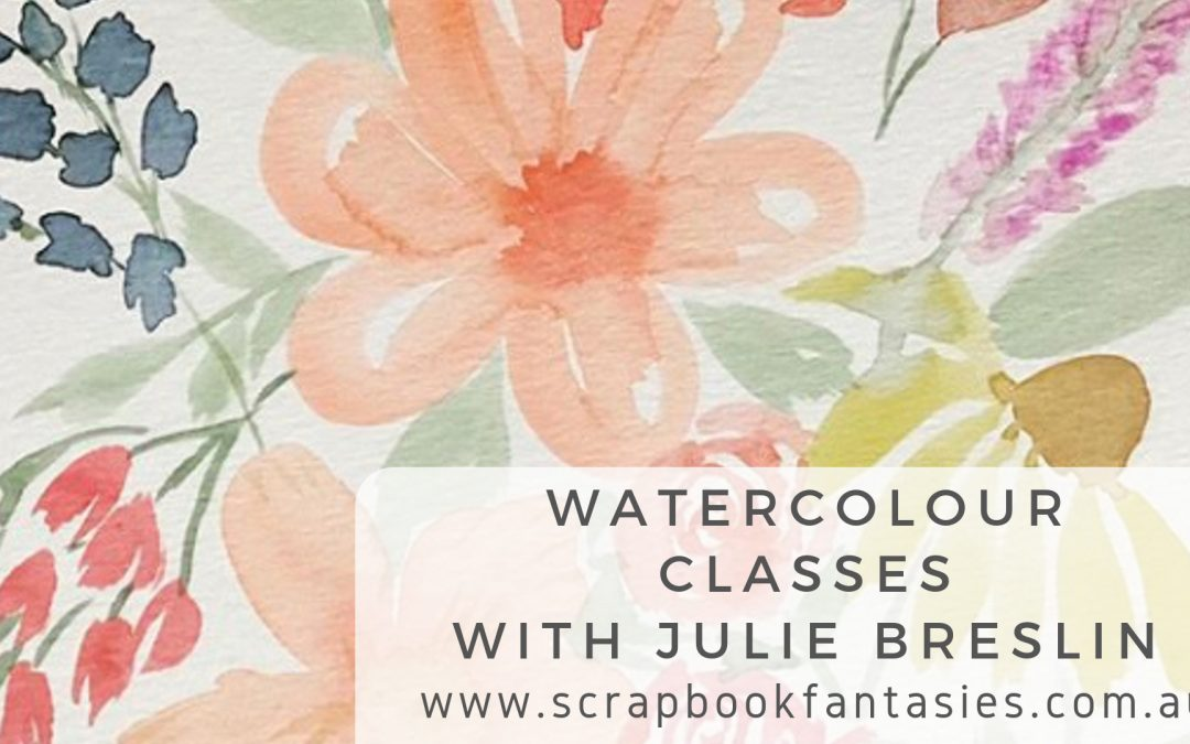 Watercolour Class with Julie Breslin $17