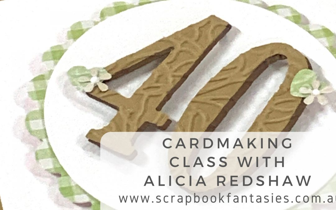 Lemoncraft House of Roses Cardmaking Class with Alicia Redshaw $17