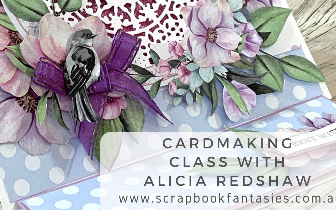 ScrapBoys Loveland Cardmaking Class with Alicia Redshaw $17