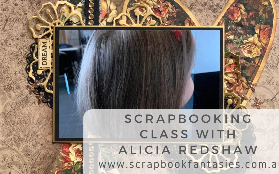 Scrapboys Industrial Romance Scrapbooking Class with Alicia Redshaw $17 {REPEAT}